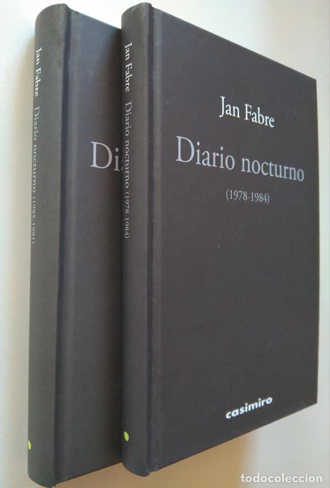JAN FABRE: DIARIO NOCTURNO 1978-1984 Y 1985-1991. DEDICADO Y FIRMADO POR EL AUTOR. DOS VOLÚMENES (Arte - Varios Objetos de Arte)
