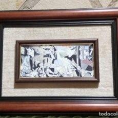 Varios objetos de Arte: ESMALE DEL GUERNICA DE PABLO PICASSO. REPRODUCCIÓN. Lote 217032410