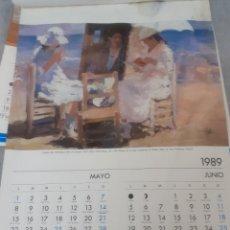 Varios objetos de Arte: ALMANAQUE DE CECILIO PLA 1989. Lote 217175010