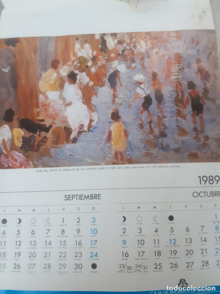 Varios objetos de Arte: Almanaque de Cecilio Pla 1989 - Foto 4 - 217175010