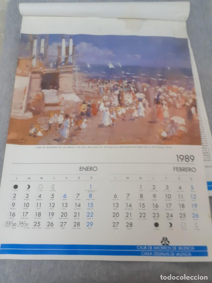 Varios objetos de Arte: Almanaque de Cecilio Pla 1989 - Foto 5 - 217175010