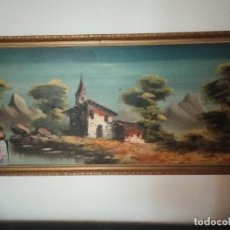 Varios objetos de Arte: ANTIGUO PINTURA GRANDES DIMENCIONES. Lote 217321286