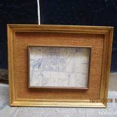 Varios objetos de Arte: MURAL PINTURA IMPRESIONISTA OLEO ORIGINAL SALVADOR TORRES NARVAEZ MALAGA 1966. Lote 217340348