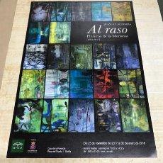 Varios objetos de Arte: CARTEL JUAN E. LACOMBA. EXPOSICION AL RASO. SEVILLA.. Lote 217776760