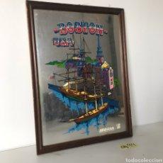Varios objetos de Arte: CUADRO ESPEJO - BOSTON. Lote 217946211