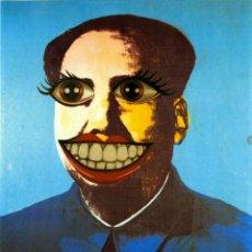 Varios objetos de Arte: MAO SMILE. ANDY WARHOL. COLLAGE ANALÓGICO DE INDALECIO. Lote 218106227