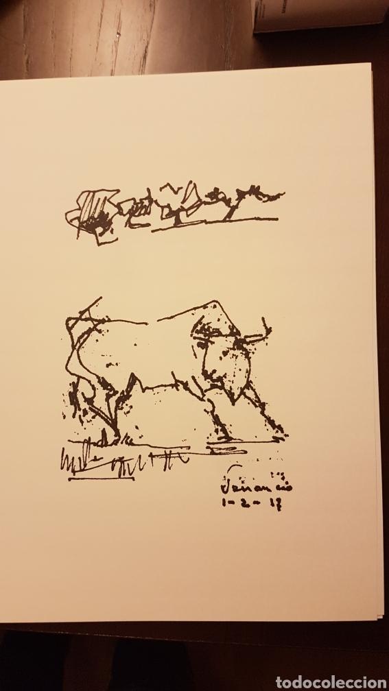 Varios objetos de Arte: Láminas Venancio Blanco 35 aniversario escuela taurina Salamanca - Foto 3 - 218129883