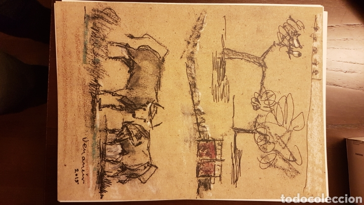 Varios objetos de Arte: Láminas Venancio Blanco 35 aniversario escuela taurina Salamanca - Foto 6 - 218129883