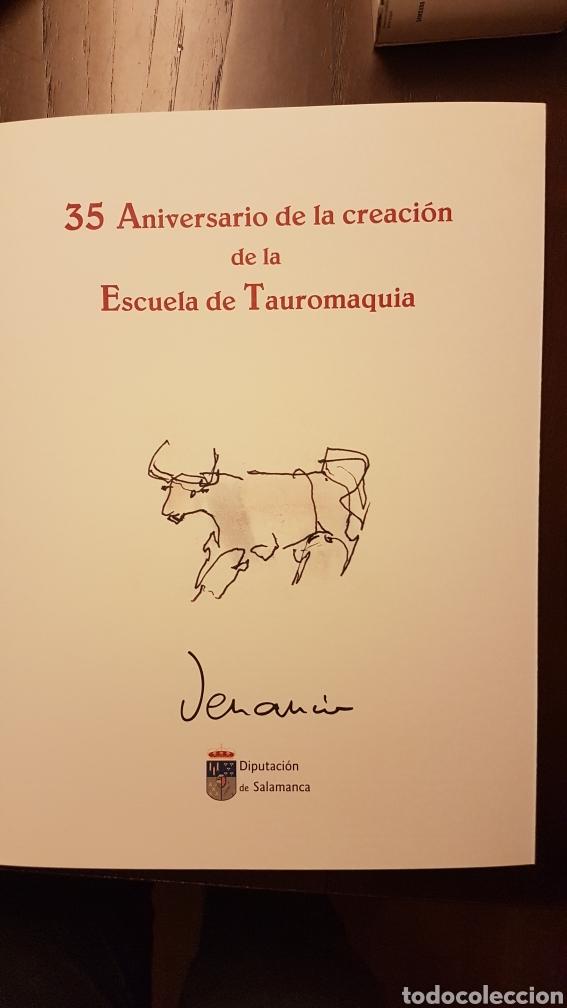 LÁMINAS VENANCIO BLANCO 35 ANIVERSARIO ESCUELA TAURINA SALAMANCA (Arte - Varios Objetos de Arte)