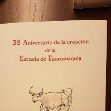 Varios objetos de Arte: LÁMINAS VENANCIO BLANCO 35 ANIVERSARIO ESCUELA TAURINA SALAMANCA. Lote 218129883