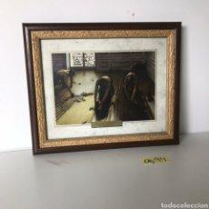 Varios objetos de Arte: CUADRO LOS ACEPILLADORES. Lote 218152206