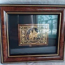Varios objetos de Arte: PRECIOSO CUADRO DON QUIJOTE Y SANCHO PANZA. Lote 218191802