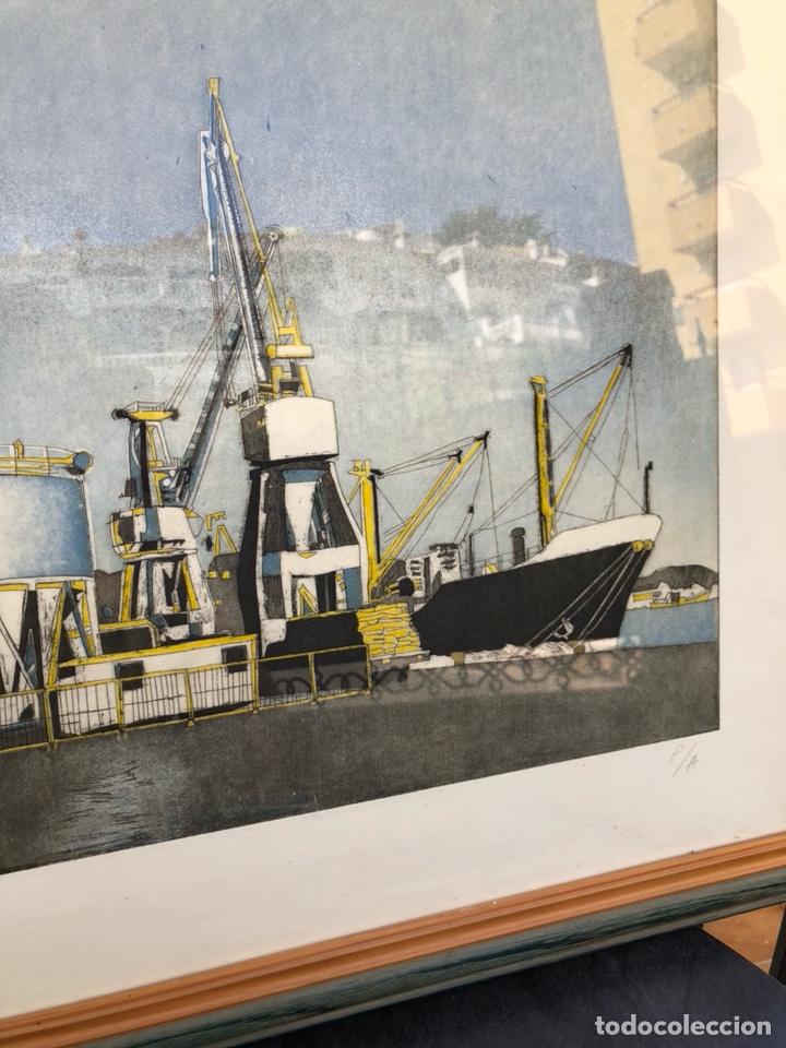Varios objetos de Arte: Bonita prueba de autor, firmada, desconozco técnica - Foto 4 - 218447805