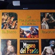 Varios objetos de Arte: LAS COLECCIONES DEL MUSEO DEL PRADO. GRUPO ZETA. PANORAMA. COMPLETO 12 FASCÍCULOS + 12 VÍDEOS. Lote 218693391