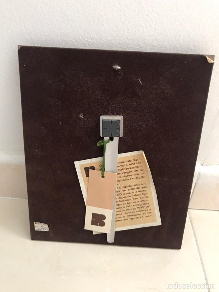 Varios objetos de Arte: cuadro arrue esmalte al fuego marco de plata pura - Foto 2 - 218835877
