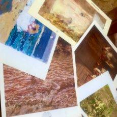 Varios objetos de Arte: INCREIBLE LOTE COLECCION DE LAMINAS DE ARTE + 125 AÑOS DE PINTURA VALENCIANA. Lote 219422392