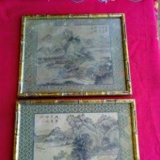 Varios objetos de Arte: PINTURA MUY ANTIGUA JAPONESA. Lote 219526632