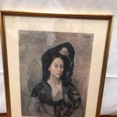 Varios objetos de Arte: RETRATO DE LA SRA. CANALS (1905). Lote 219837220