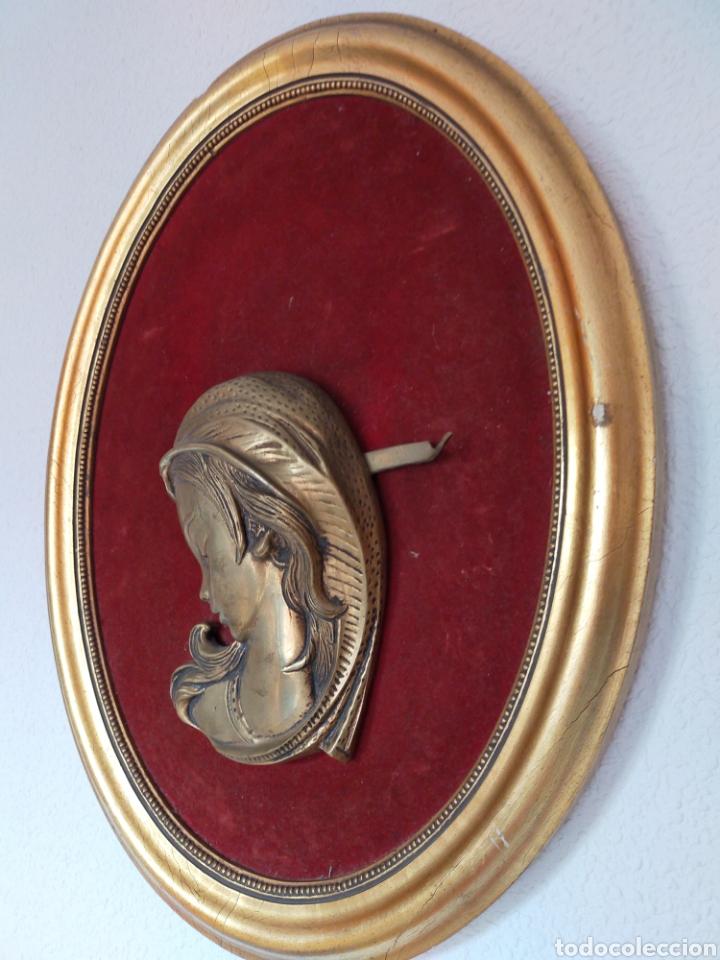Varios objetos de Arte: Cuadro ovalado mujer - Foto 3 - 220355890