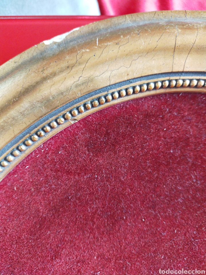 Varios objetos de Arte: Cuadro ovalado mujer - Foto 5 - 220355890