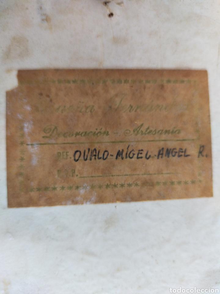 Varios objetos de Arte: Cuadro ovalado mujer - Foto 8 - 220355890