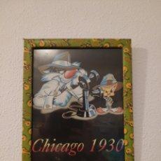 Art: CUADRO LOONEY TUNES CHICAGO 1930. Lote 220629136