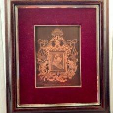 Varios objetos de Arte: FELIPE DE VIGARNI [EL BORGOÑÓN] REPRODUCCIÓN DEL RETRATO DEL CARDENAL CISNEROS (S. XVI) 19 X 13,5 CM. Lote 220762211