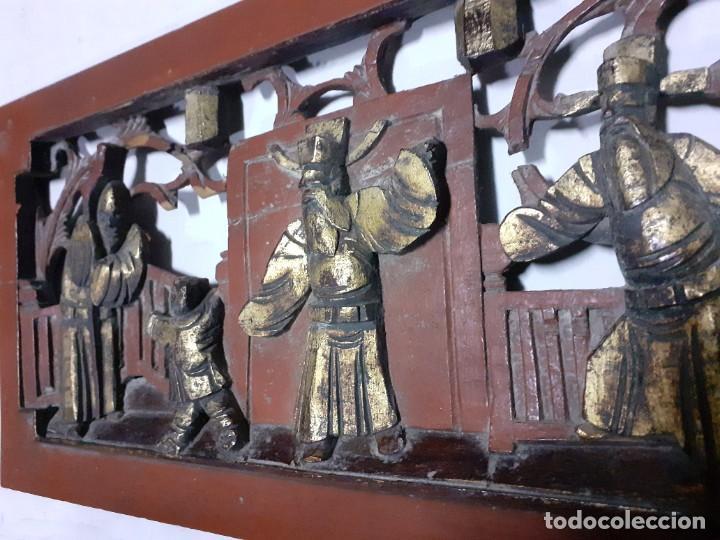 Varios objetos de Arte: TABLA TALLADA CHINA -- ASTURIAS,OVIEDO,GIJÓN, VALENCIA,MADRID,VASCO,SANTANDER, GALICIA - Foto 2 - 220773311