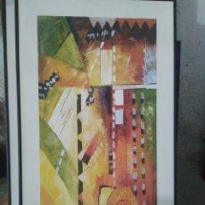 Varios objetos de Arte: CUADRO EN MADERA, DE EXP24, 2007. Lote 220929680