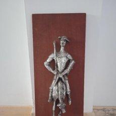 Varios objetos de Arte: RETABLO DE MADERA DON QUIJOTE. MEDIDAS 60,6X24,5CM. Lote 221131951