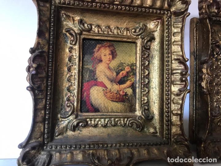 Varios objetos de Arte: Lote de cuadros de época - Foto 2 - 221249416