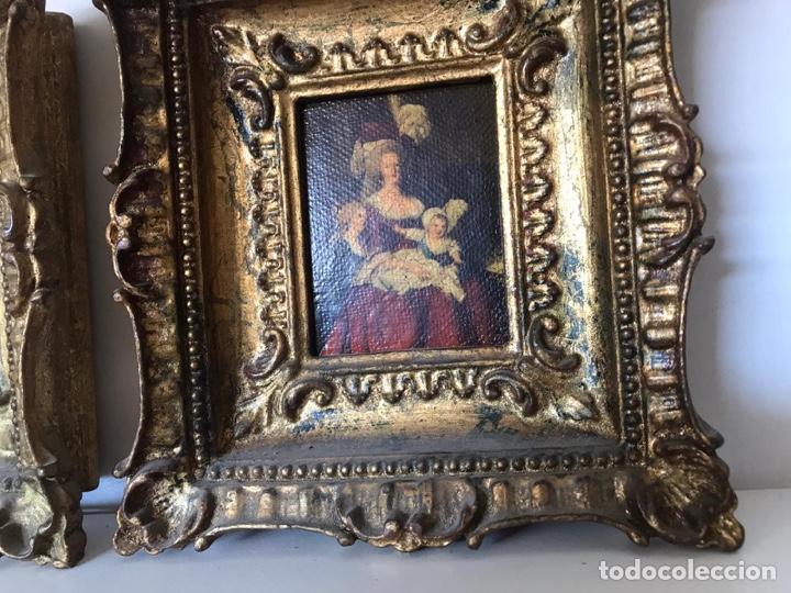 Varios objetos de Arte: Lote de cuadros de época - Foto 3 - 221249416