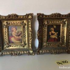Varios objetos de Arte: LOTE DE CUADROS DE ÉPOCA. Lote 221249416