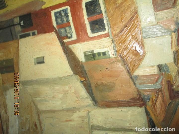 Varios objetos de Arte: pintura IMPRESIONISTA antigua LOPEZ DOMENECH ALICANTE exposiciion ARTE NACIONAL EDUCACION DESCANSO - Foto 3 - 221436917