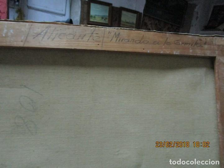 Varios objetos de Arte: pintura IMPRESIONISTA antigua LOPEZ DOMENECH ALICANTE exposiciion ARTE NACIONAL EDUCACION DESCANSO - Foto 15 - 221436917