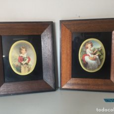 Varios objetos de Arte: LOTE DE CUADROS DE ÉPOCA. Lote 221506738