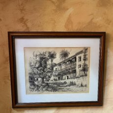 Varios objetos de Arte: PLUMILLA ORIGINAL ANTONIO MARTIN. Lote 221882213