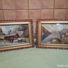 Varios objetos de Arte: DOS CUADROS.... Lote 222505710