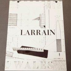 Varios objetos de Arte: LARRAIN, EMILIO - GALERÍA TRECE - 1978. Lote 222575920