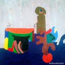 Varios objetos de Arte: DONOSTIA AÑO 87. ACRILICO. MEDIDAS 99.5X80.5CM. Lote 222690688