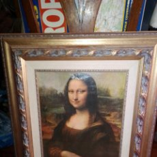 Varios objetos de Arte: CUADRO LA GIOCONDA MONA LISA. Lote 222883680