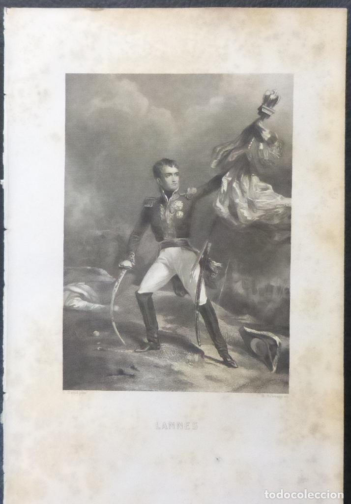1 ILUSTRACION DE NAPOLEON BONAPARTE(B&N),LANNES (Arte - Varios Objetos de Arte)