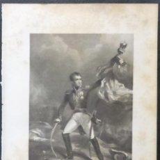 Varios objetos de Arte: 1 ILUSTRACION DE NAPOLEON BONAPARTE(B&N),LANNES. Lote 224235737