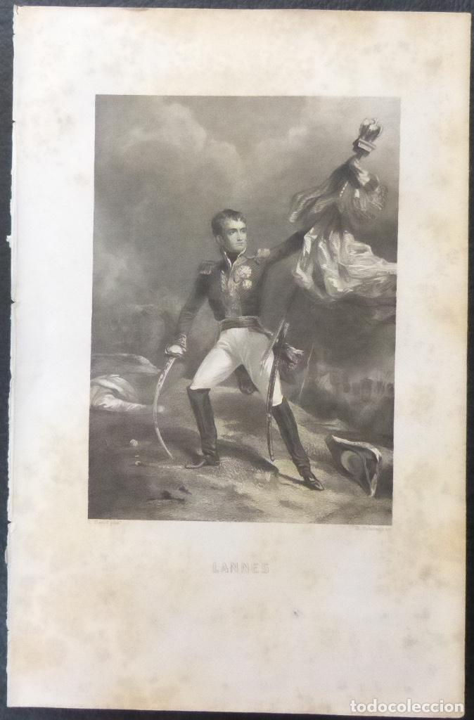 Varios objetos de Arte: 1 ilustracion de Napoleon Bonaparte(B&N),Lannes - Foto 6 - 224235737