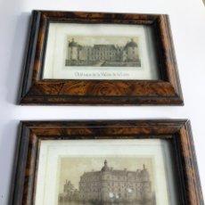 Varios objetos de Arte: 2 PRECIOSAS REPRODUCCIONES DE CASTILLOS FRANCESES DEL LOIRA. Lote 224324927
