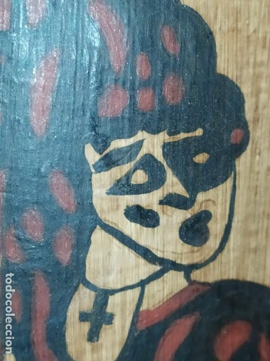 Varios objetos de Arte: TEJA DECORACIÓN ANTIGUA? SOCARRAT FIRMADO PRESEN BONITO VALENCIANO PORTANDO BANDERA? - Foto 14 - 224557097
