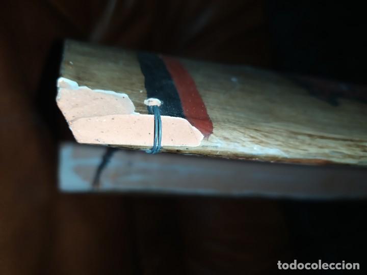Varios objetos de Arte: TEJA DECORACIÓN ANTIGUA? SOCARRAT FIRMADO PRESEN BONITO VALENCIANO PORTANDO BANDERA? - Foto 18 - 224557097