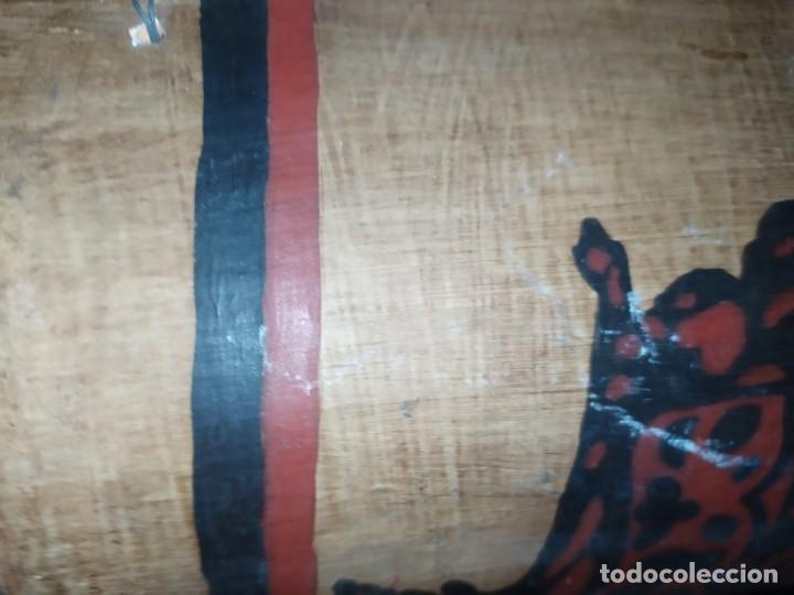 Varios objetos de Arte: TEJA DECORACIÓN ANTIGUA? SOCARRAT FIRMADO PRESEN BONITO VALENCIANO PORTANDO BANDERA? - Foto 20 - 224557097
