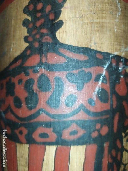 Varios objetos de Arte: TEJA DECORACIÓN ANTIGUA? SOCARRAT FIRMADO PRESEN BONITO VALENCIANO PORTANDO BANDERA? - Foto 21 - 224557097