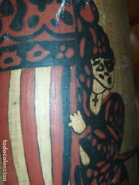 Varios objetos de Arte: TEJA DECORACIÓN ANTIGUA? SOCARRAT FIRMADO PRESEN BONITO VALENCIANO PORTANDO BANDERA? - Foto 22 - 224557097